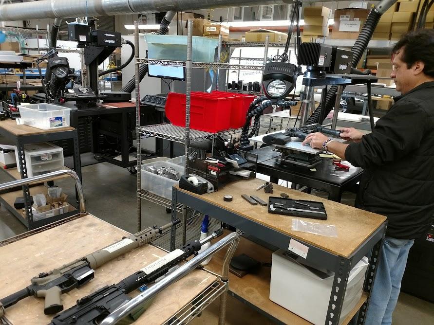 Firearm-laser-marking