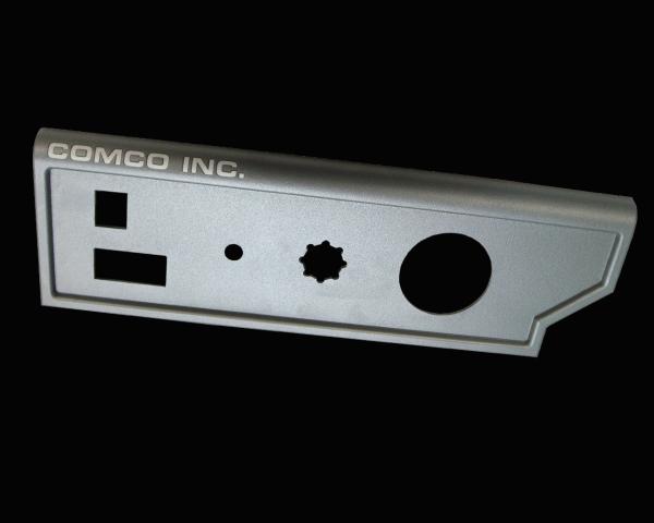 laser marking powder coated aluminum